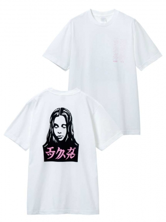 X-GIRL X LONELY FACE MENS SS TEE