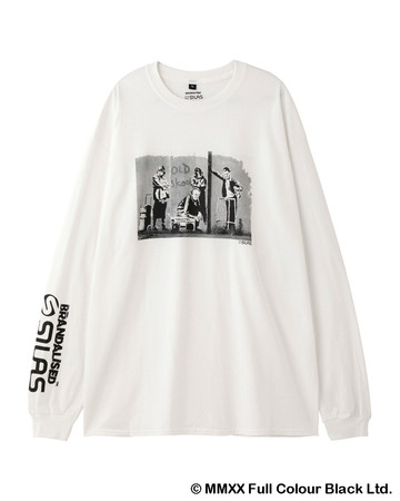 BRANDALISED x SILAS OLD SKOOL LS TEE ¥5,000+ 税