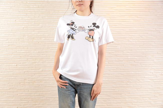 「Sarabeth's×Disney ハイクオリティTシャツ」白