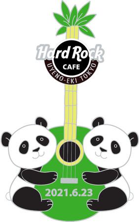 Twin Pandas Pin-1