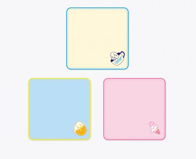 GO!GO!ゴマちゃんキッチン オリジナル 今治ハンドタオル(ロゴ/フルーツ/アイス)