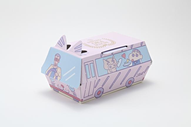 ⚫︎ふたば幼稚園バスの特製ボックス