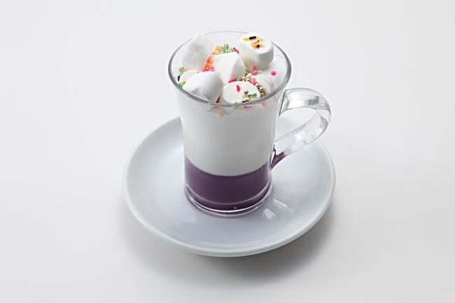 ⚫︎みさえ特製マシュマロ紅芋ホットミルクショコラ