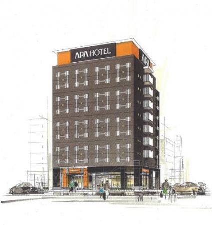 アパホテル〈TKP川崎〉(仮称) 外観イメージ