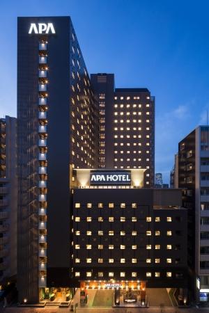 アパホテル&リゾート〈西新宿五丁目駅タワー〉外観