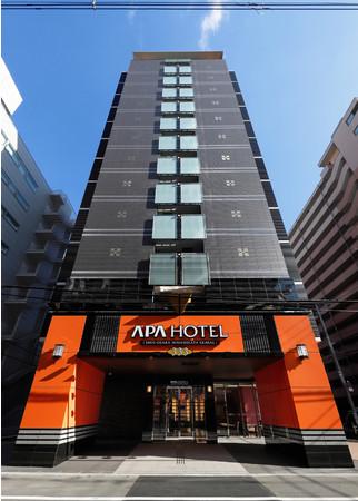 アパホテル〈新大阪 南方駅前〉外観写真