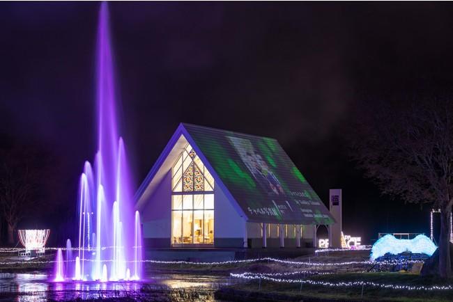 光と音楽の噴水ショー