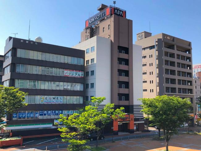 アパホテル〈小倉駅新幹線口〉外観