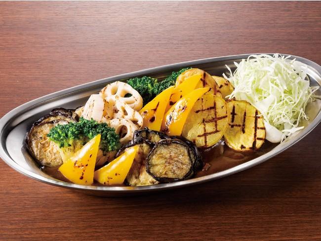 ●焼き野菜社長カレー(1日分の野菜350g) ※写真はイメージです