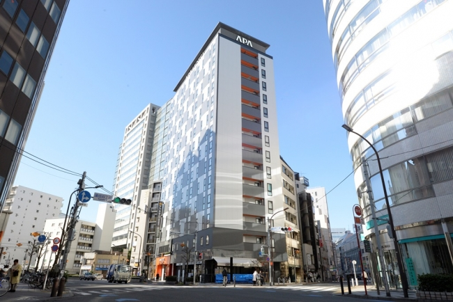 アパホテル〈蒲田駅東〉外観