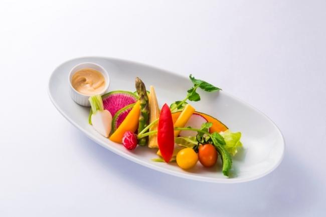 旬野菜のバーニャカウダー