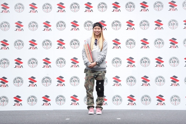 SKATER of the YEAR(WOMAN) 西村 碧莉