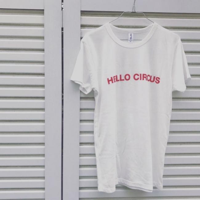 ハローサーカス・オリジナルTシャツ