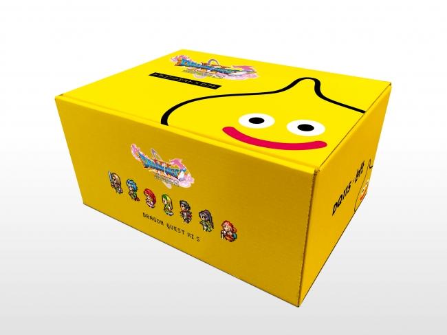 ※オリジナルBOX(非売品) に入った黄色いスライムグッズセット