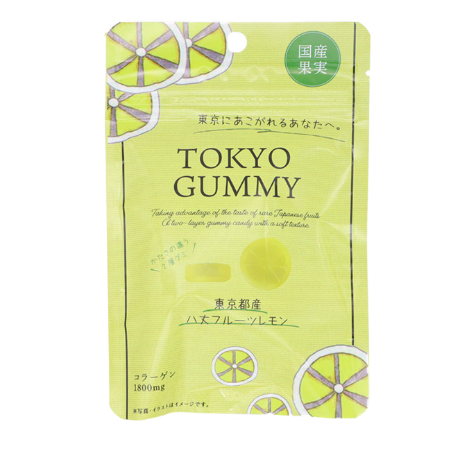 果実工房「TOKYOグミ 八丈フルーツレモン」130円