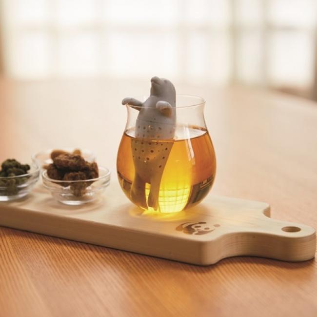アニマル茶こし(ゴマフアザラシ)