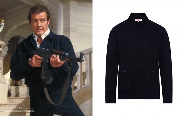 ロジャー・ムーア 『007 オクトパシー』 ハリントンジャケット ¥69,000+税