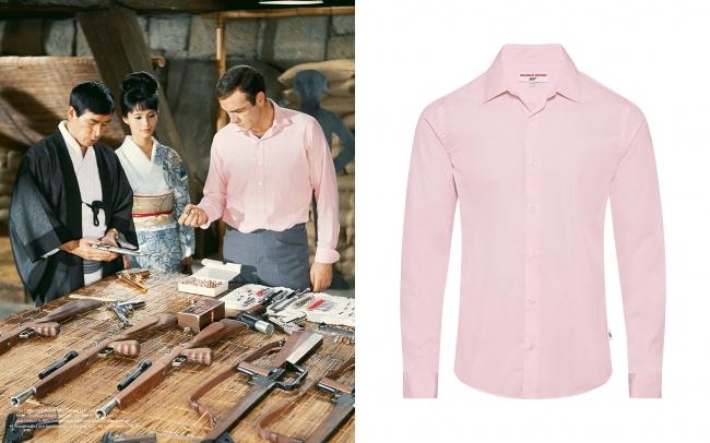 ショーン・コネリー 『007は二度死ぬ』 クラシックシャツ ¥39,000+税