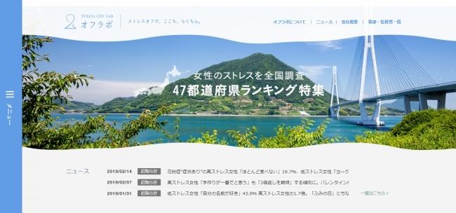 メディプラス研究所が運営するウェブサイト「オフラボ」