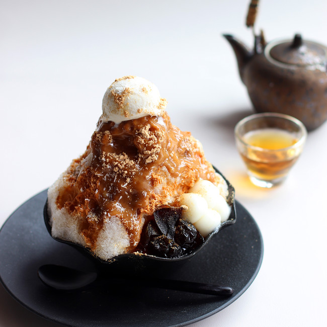 厳選きな粉とココナッツの台湾風かき氷