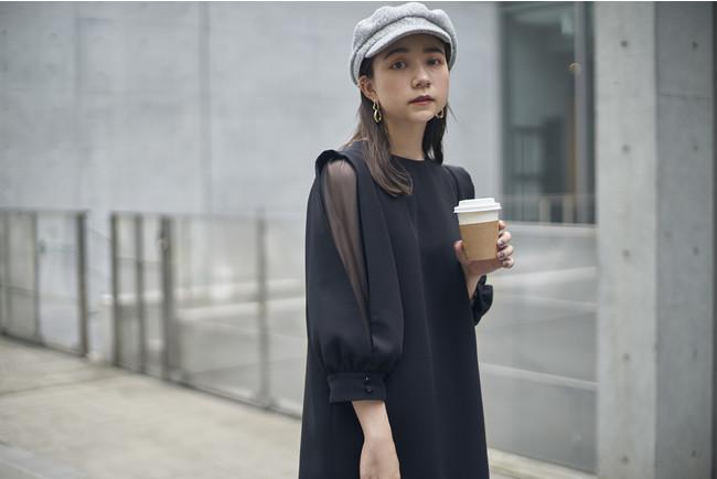 Ladylike dress ブラック