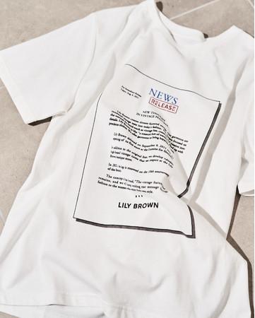 NEWS T-Shirt ¥5,940-