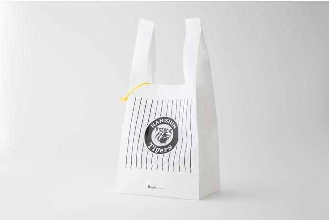 阪神タイガースロゴ入りリサイクルエコバッグ