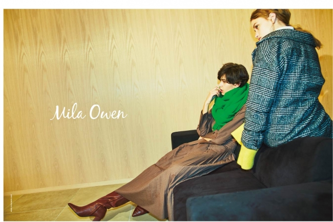 Mila Owen 2018 AW1st COLLECTION
