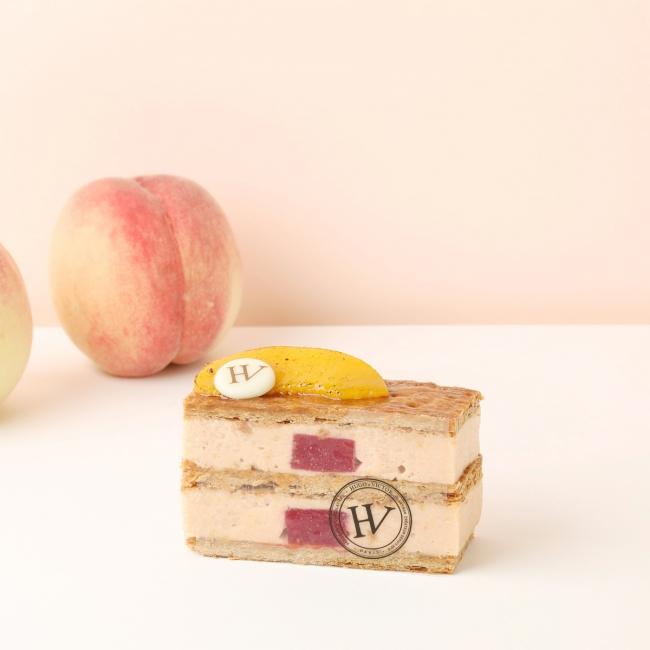 Mille-feille Peche(ミルフィーユ ペッシュ) 800円(税別)