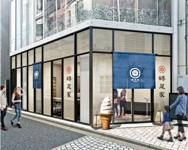 ↑7月18日(木)グランドオープン予定の麻布十番店外観(イメージ)