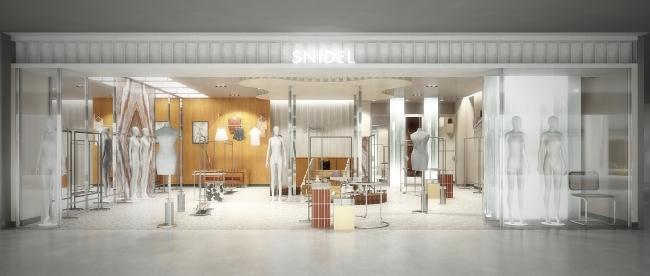 SNIDEL新宿ルミネ2店パース