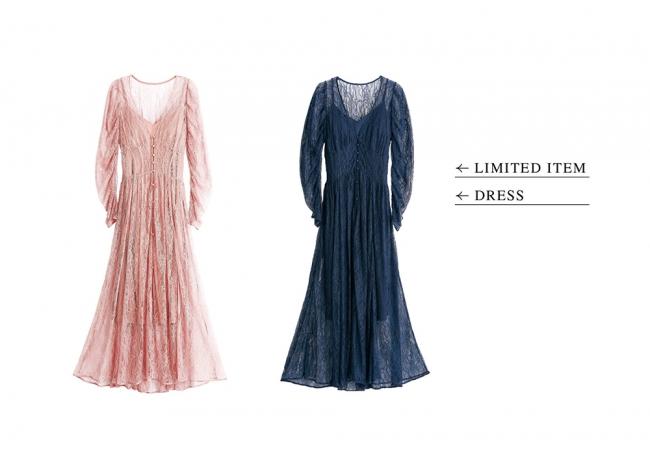 Shinjuku limited dress 18,000yen+tax