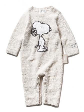 PEANUTS】ベビモコジャガード baby ロンパース ¥6,400