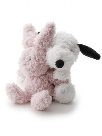 【PEANUTS】スヌーピー&ウサギぬいぐるみ ¥7,000