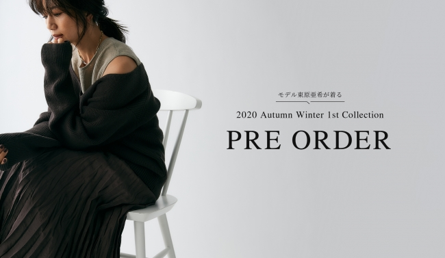 2020 Autumn Winter Collection PRE ORDER