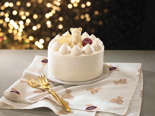ジェラートピケクリスマスケーキ2020