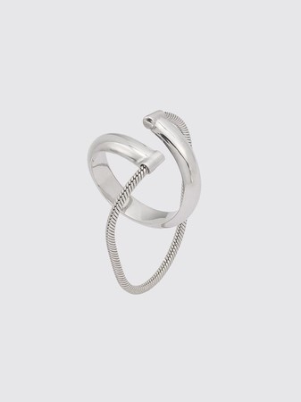 ROSALINDE mid-size hoop w chain ¥34,000+tax