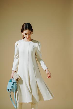 Dress ¥18,000+tax 【ウォッシャブルでお手入れが簡単なドレス】