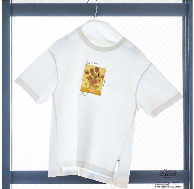 【The National Gallery, London】Vincent van Gogh アートTシャツ ¥6,930-(tax in