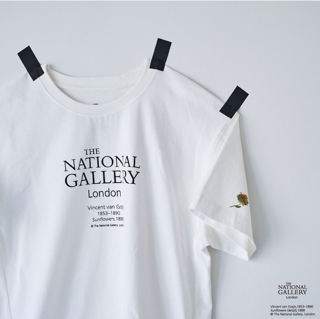 【The National Gallery, London】ロゴTシャツ ¥6,930-(tax in)