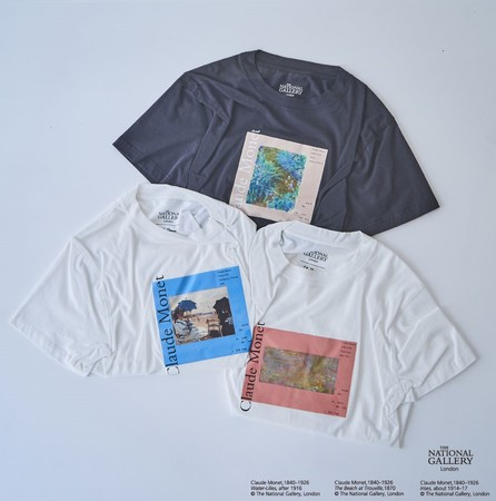 【The National Gallery, London】Claude Monet アートTシャツ  ¥6,930- (tax in)