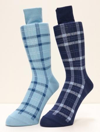 福助オリジナル「二層構造糸」靴下(メンズ)