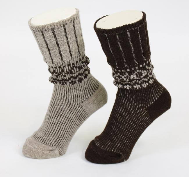 """Fukuske""天然材质袜子形象"