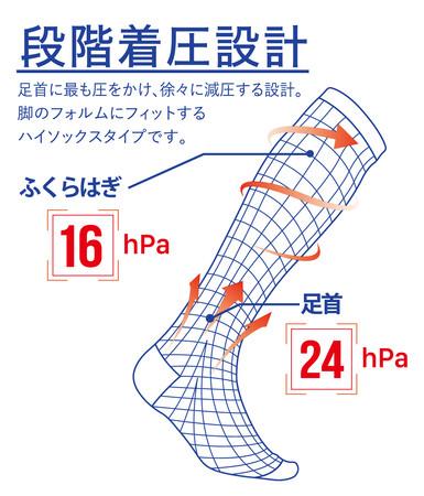 災害時などの避難生活で起こり得るエコノミークラス症候群を予防する着圧靴下を全国に広めるためにクラウドファンディングに挑戦
