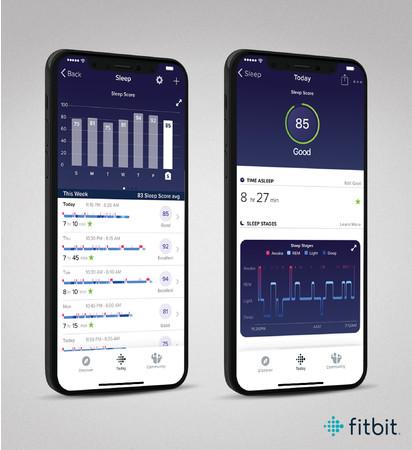 Fitbit 睡眠 スコア