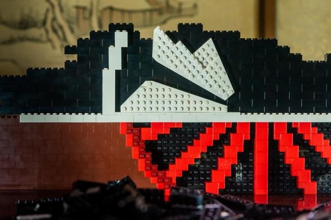 第1弾:巨大レゴブロック 「凌風丸」 初上陸イベント