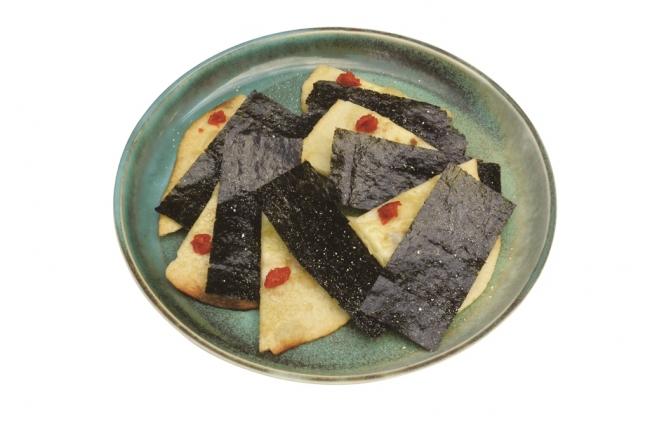 【店舗名:IKI-BA】 佐賀海苔のピザ
