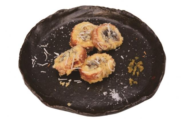 【店舗名:IKI-BA】 かす巻の天ぷら 柚子胡椒とココナッツ風味