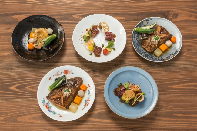 人間国宝等の器で佐賀県産食材の特別メニューが楽しめる レストラン「ユージアム サガ」