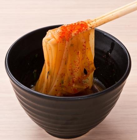 <節香るスタミナつけ麺>